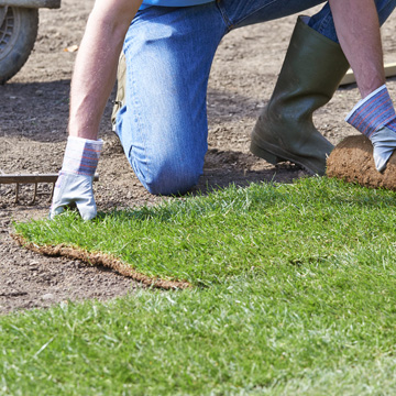SLJ Contracts take great pride in our turf laying expertise and use only the best lawn materials available